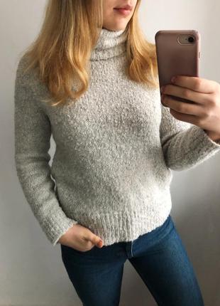 Тёплый свитер с горловиной marks & spencer