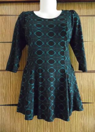 Платье туника трикотаж, новое marks&spencer размер 12 – идет на 46-48.
