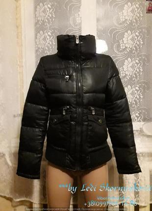 Красивая стильная куртка деми, размер с-м