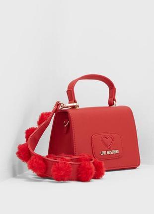 Love moschino  кроссбоди  сумка