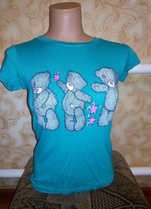 Красивая футболочка на девушку