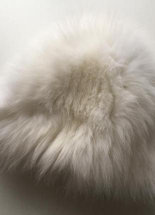 Шапка меховая норковая белая