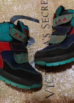 Термо ботинки 15см италия