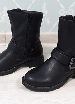 Ботинки на девочку miso bella biker boots, размер 32