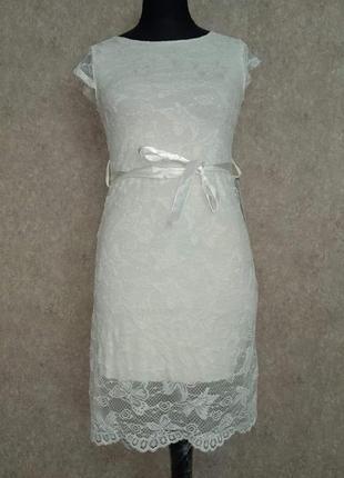 Красивое платье гипюр италия