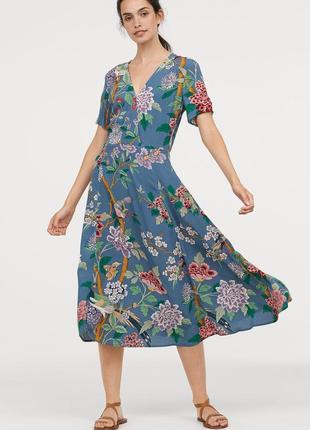 H&m платье миди, s