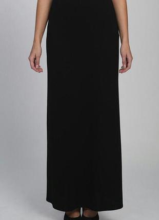 Длинная черная юбка essence 52-54 размер