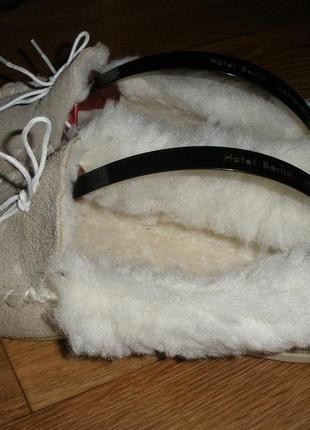 Мокасины женские зимние , натуральный мех замша!размер 39