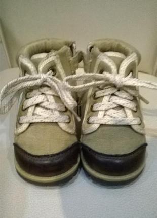 Ботинки сапожки для малыша р.18-19 на 12см2