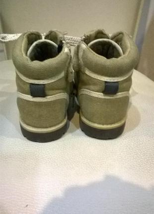 Ботинки сапожки для малыша р.18-19 на 12см3