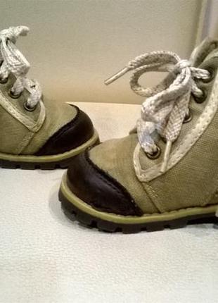 Ботинки сапожки для малыша р.18-19 на 12см