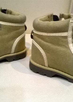 Ботинки сапожки для малыша р.18-19 на 12см5