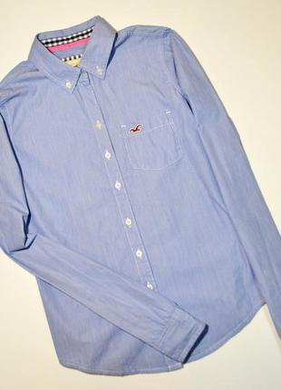 Оригинальная стильная рубашка hollister