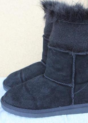 Зимние ботинки угги jumex замша германия 38р