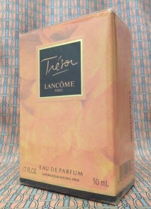 Винтажный 1990х годов tresor lancome 50 ml eau de parfum новый запечатанный
