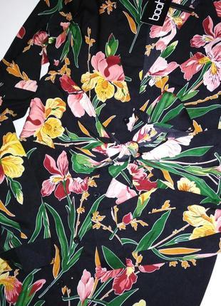 Яскрава сукня-сорочка в квітковий прінт4