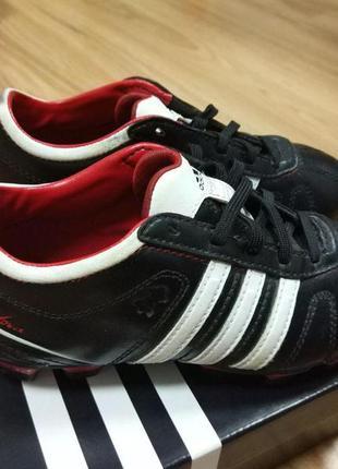 Футбольные кожаные бутсы addidas (оригинал)