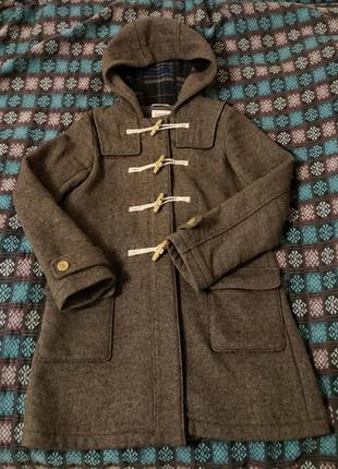 Дафлкот шерстяное пальто louche теплое s (10)