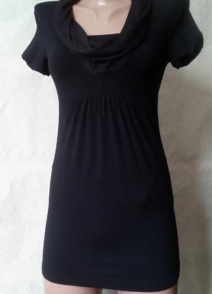 Туника платье с хомутом