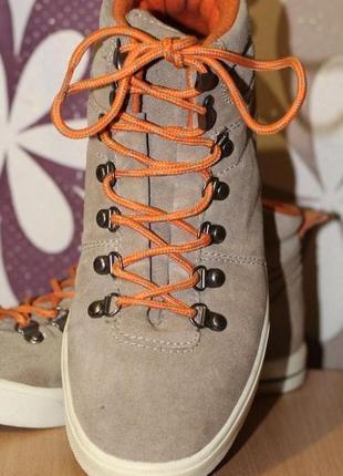 Спортивные ботинки из натуральной замши venice 41