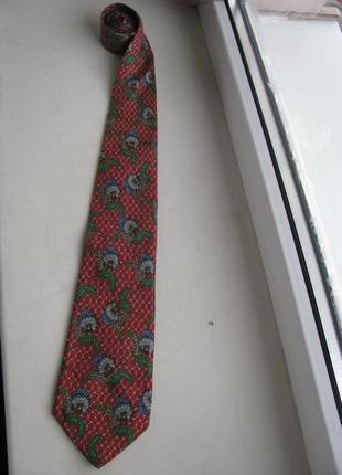 Шелковый галстук christian dior