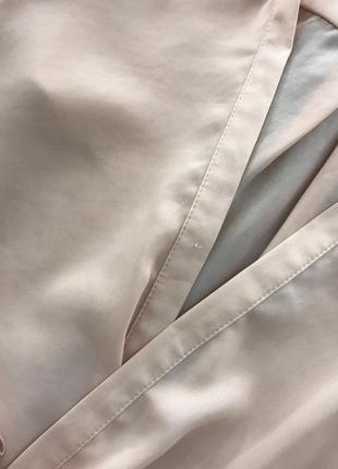 Пудровая блуза на запах river island4 фото