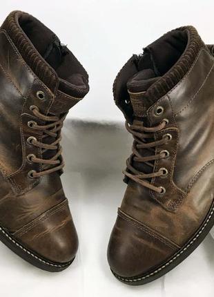 Firetrap ботинки женские коричневые натуральная кожа 37 размер новые на стопу 23.5 см
