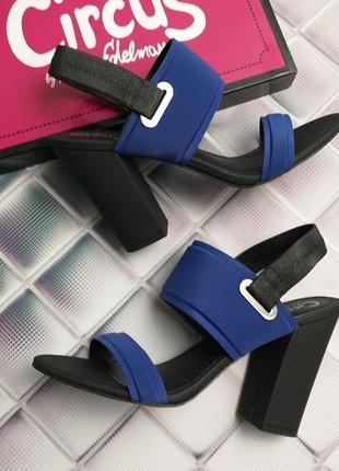 Sam edelman оригинал босоножки на широком каблуке на резинке бренд из сша