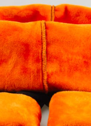 Детские кожаные леггинсы на флисе, рост. от 120 до 150 см3