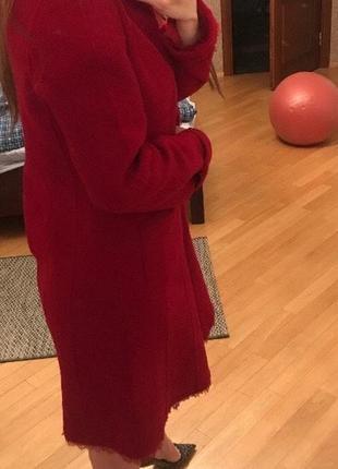 Пальто donna karan шерсть