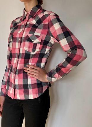 Тёплая фланелевая рубашка new look