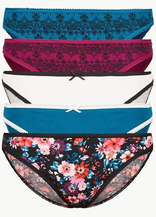 Женские трусики marks&spencer, m&s. модель bikinis р.  10