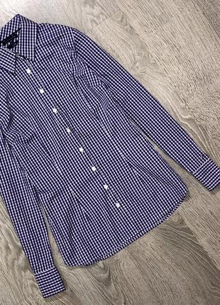 Крутая коттоновая рубашка от дорогущего бренда