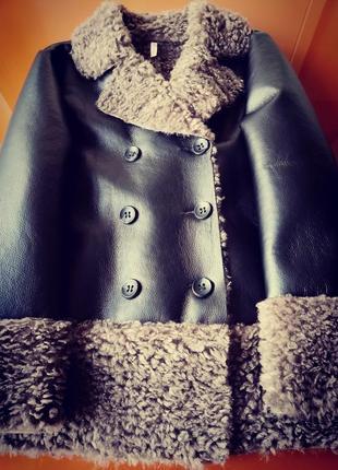 Куртка -дубленка  италия