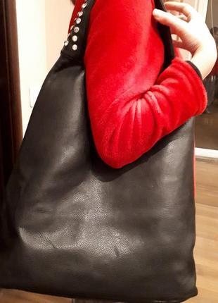 Сумка шопер + дополнительная внутренняя сумка