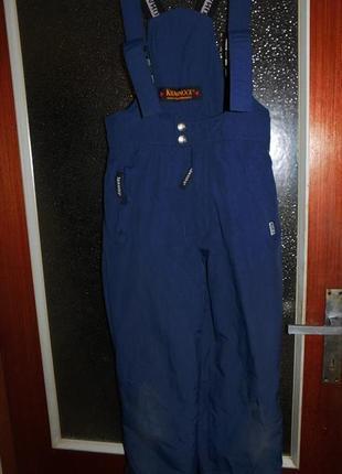 Полукомбинезон, зимний, лыжный, термо, штаны, с германии.замеры уточняйте