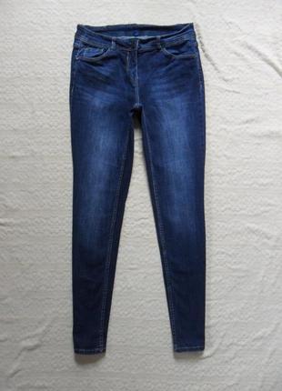 Стильные джинсы скинни cecil, l размер.