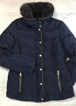 Тёплая курточка h&m на пуху