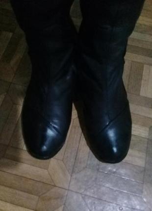 Супер (кожаные!) ботфорты, высокие сапоги 💥