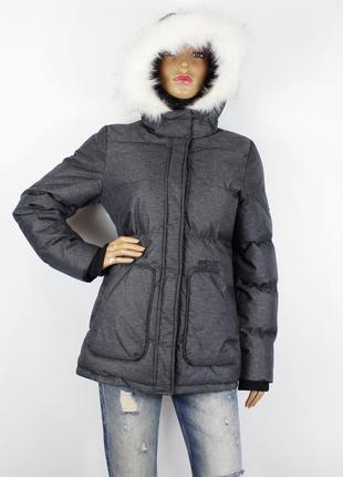 Серая зимняя куртка rip curl