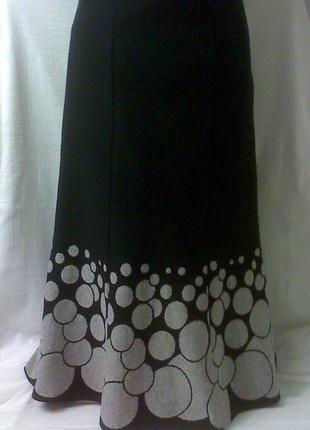 Элегантная стильная нарядная юбка