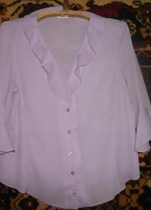 Блуза сиреневого цвета bohmarche