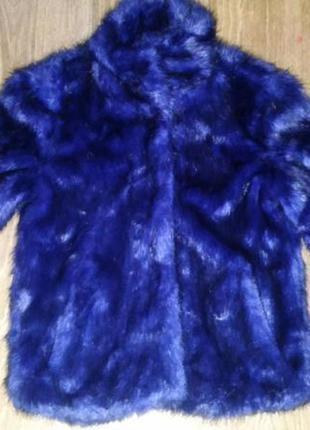 Синяя шуба