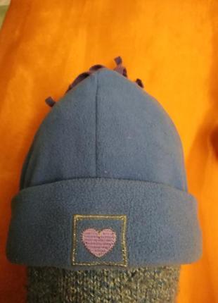 Флисовая шапочка