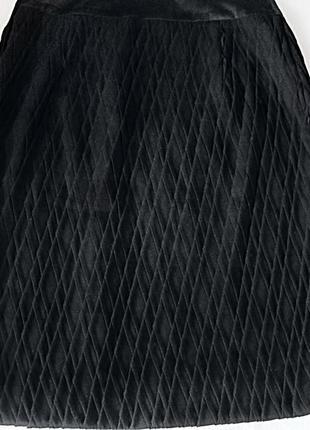 Демисезонная юбка с интересной плиссировкой 42-44 р.