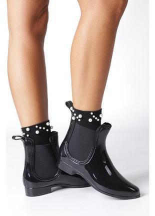 Сапоги ботинки резиновые размер 36