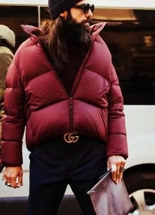 Эффектный спортивный дутый пуховик/зимняя куртка на пуху. турция climber xxl.