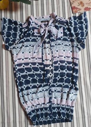 Блузка-туника fracomina 36 размер