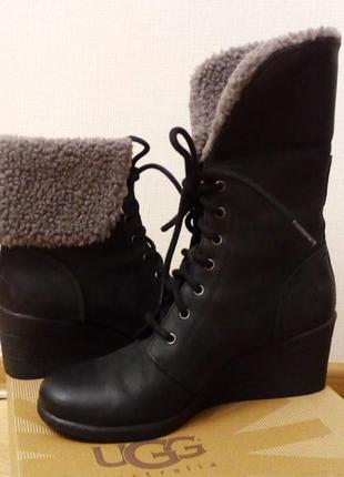 Оригинал. зимние натуральные ботинки удобные и теплые от знаменитого бренда ugg australia