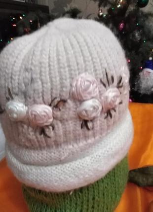 Шапочка/шапка/зима